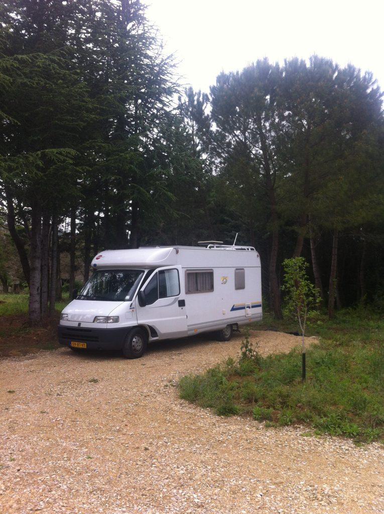 Camperreis Frankrijk: Saint Gervais sur Roubion
