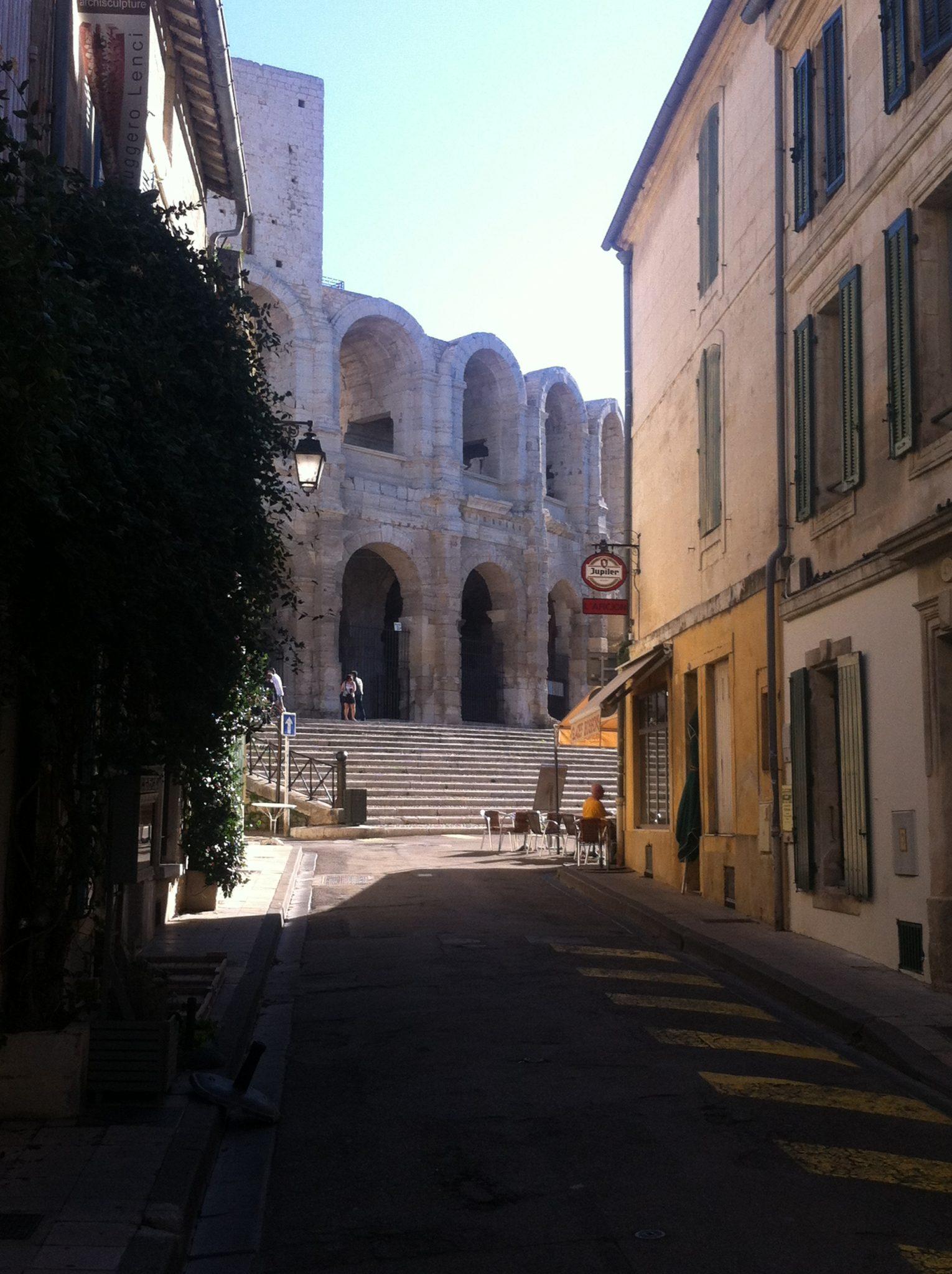 Camperreis Frankrijk: Arles amphitheater