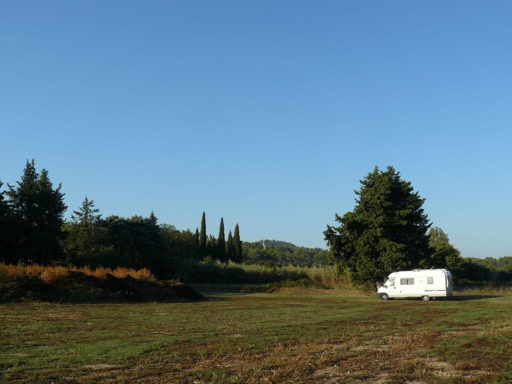 Camperreis Frankrijk: Overnachtingsplaats bij Moulin du Calanquet