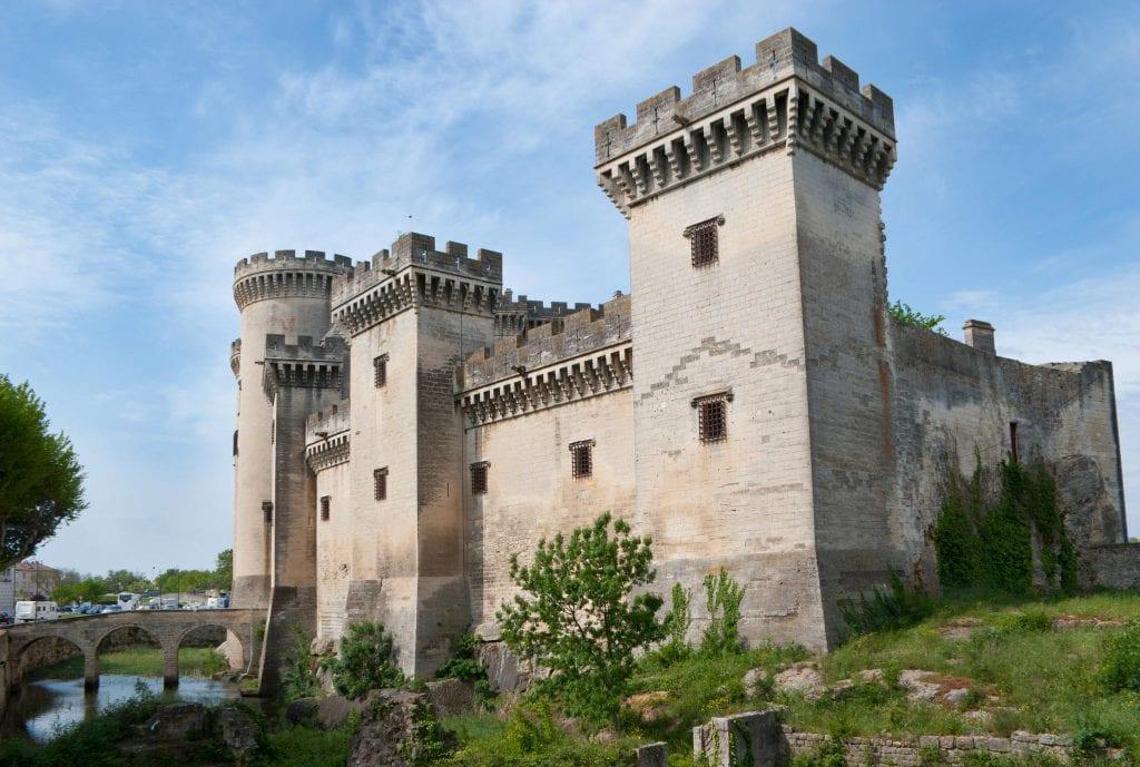 Camperreis Frankrijk: Chateau de Tarascon