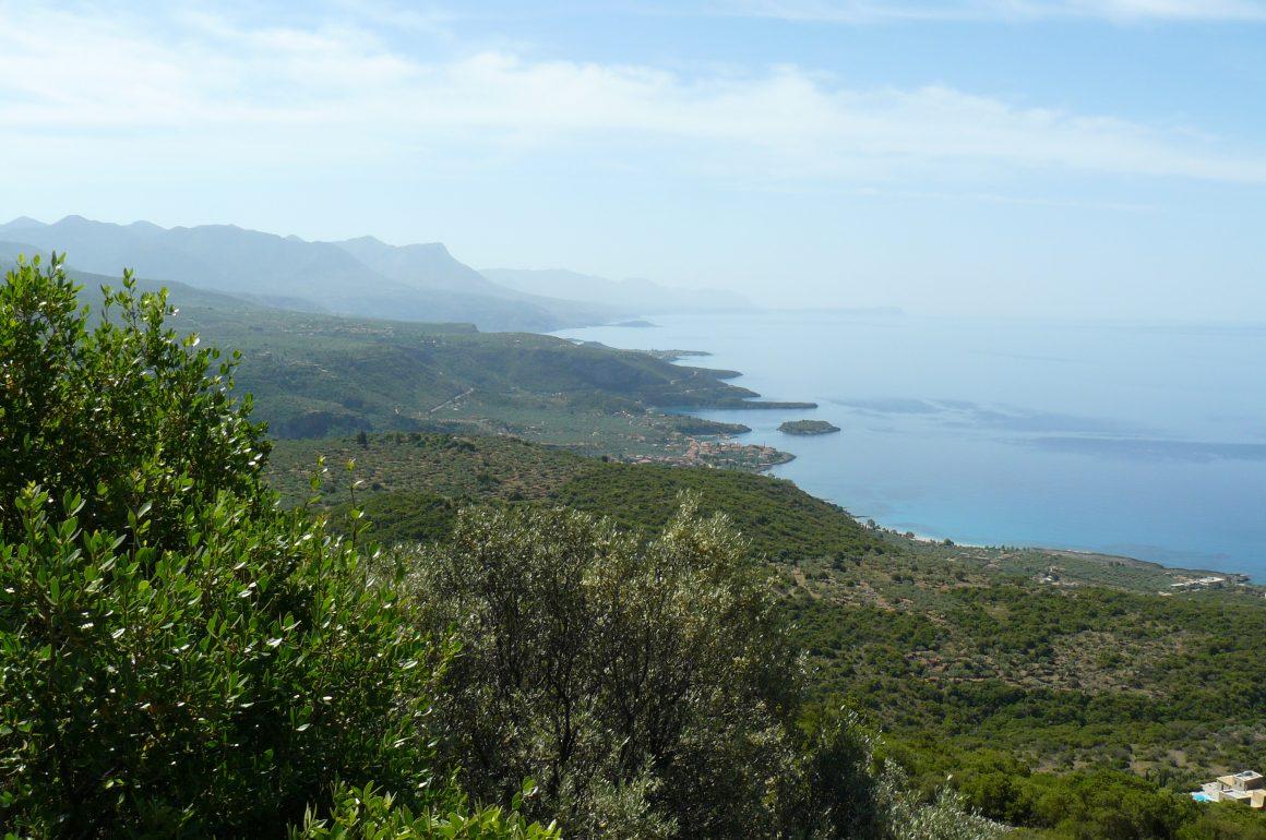 Camperreis Griekenland dag 15: van Petalidi naar Trachila