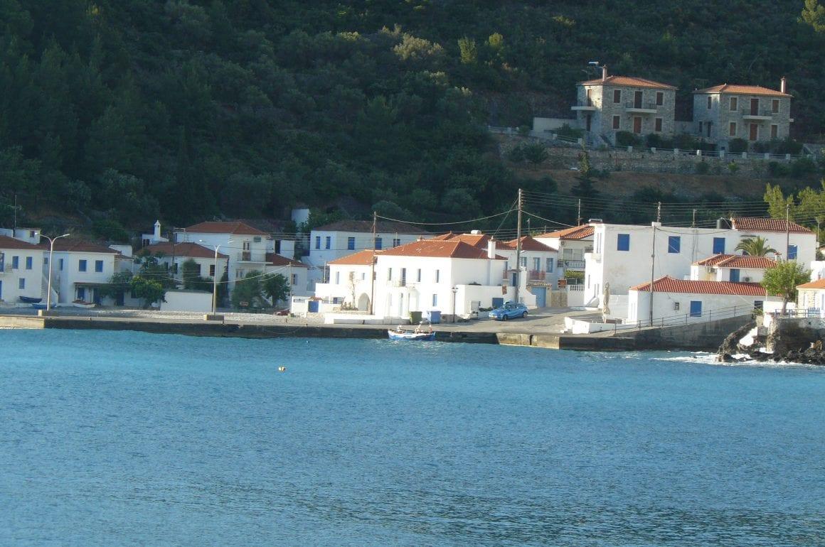 Camperreis Griekenland dag 22; van Kyparissi naar Xirokambion