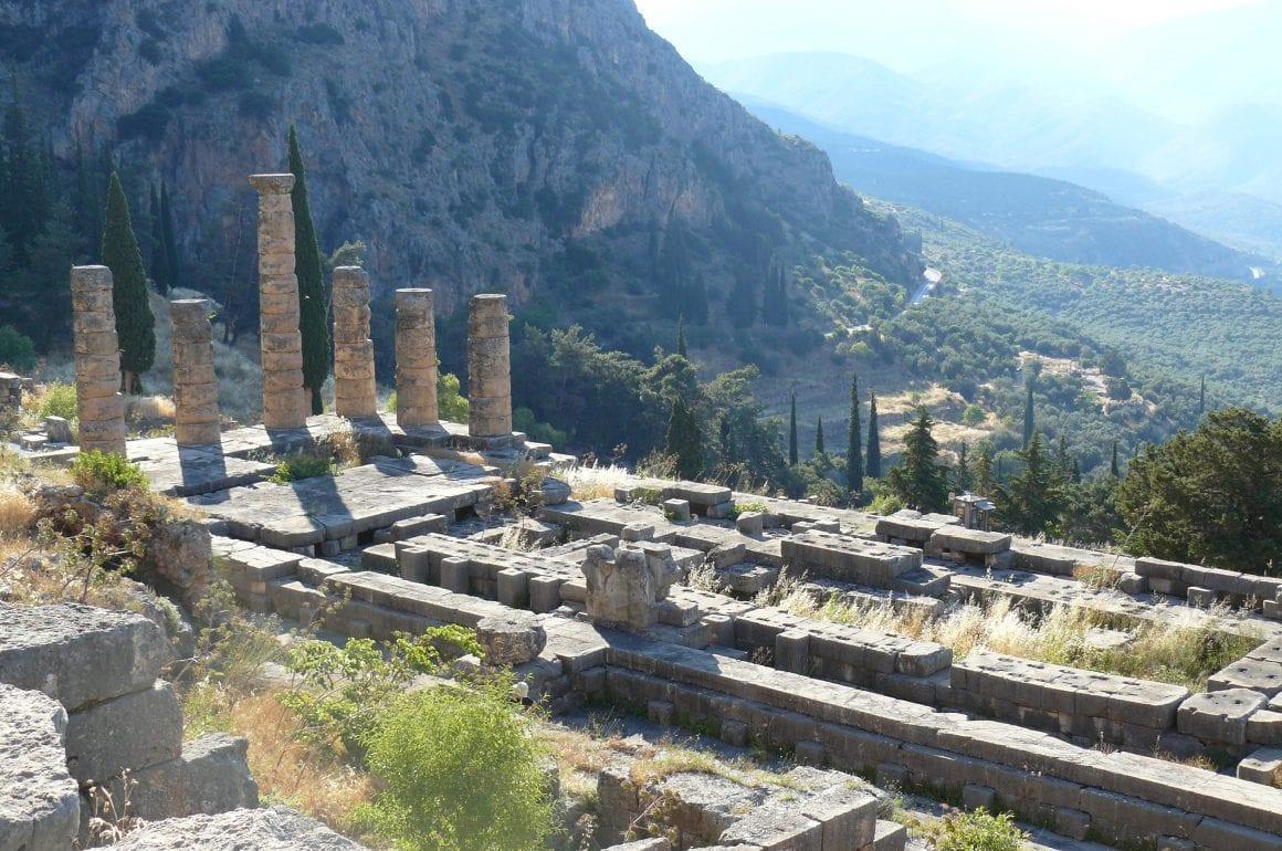 Camperreis Griekenland dag 30; van Delphi naar Portaria