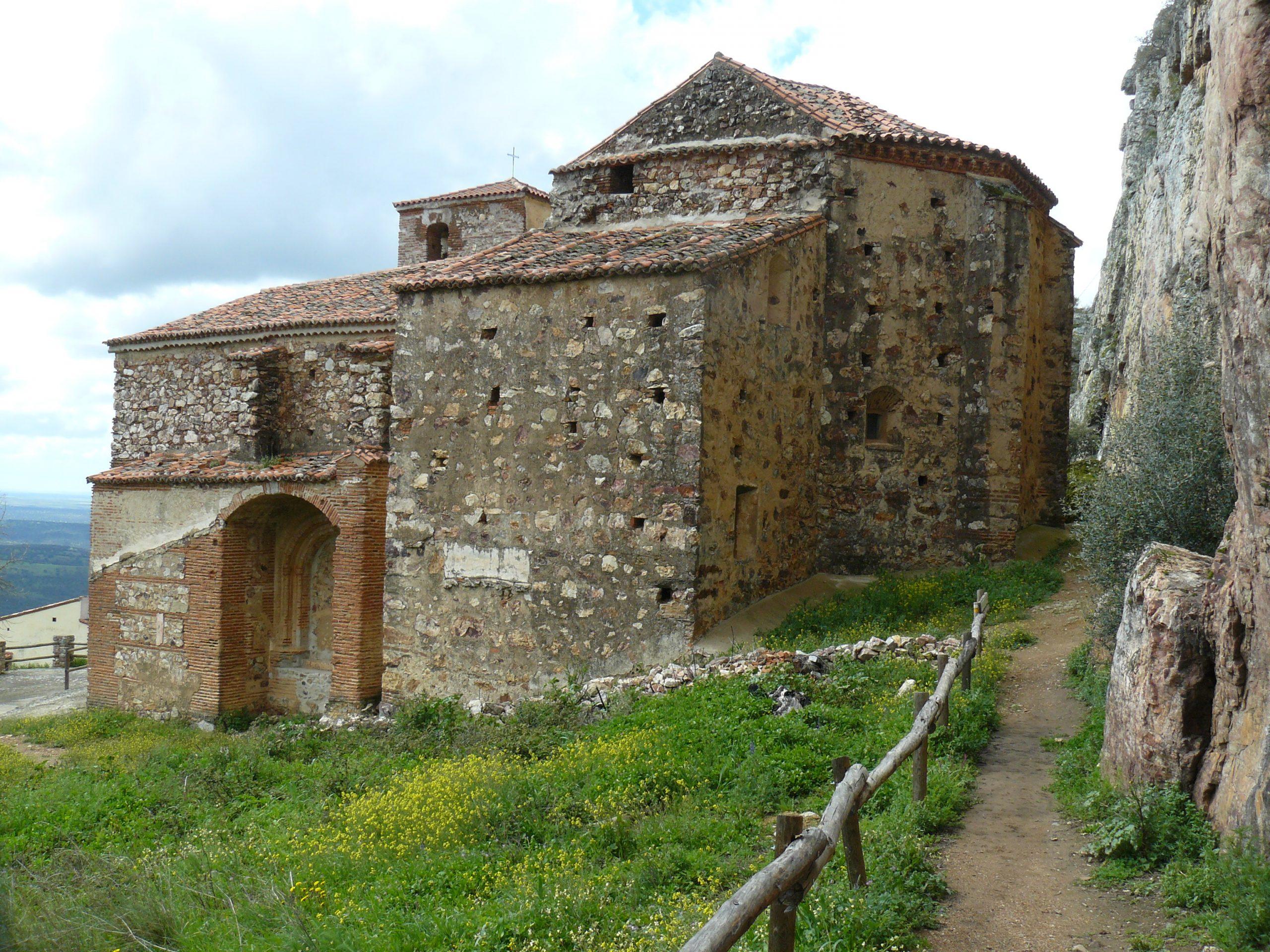 De kerk van Cabañas del Castillo