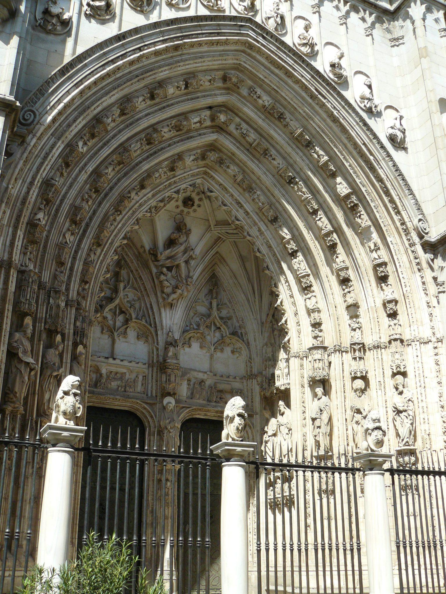 Portaal kathedraal van Toledo
