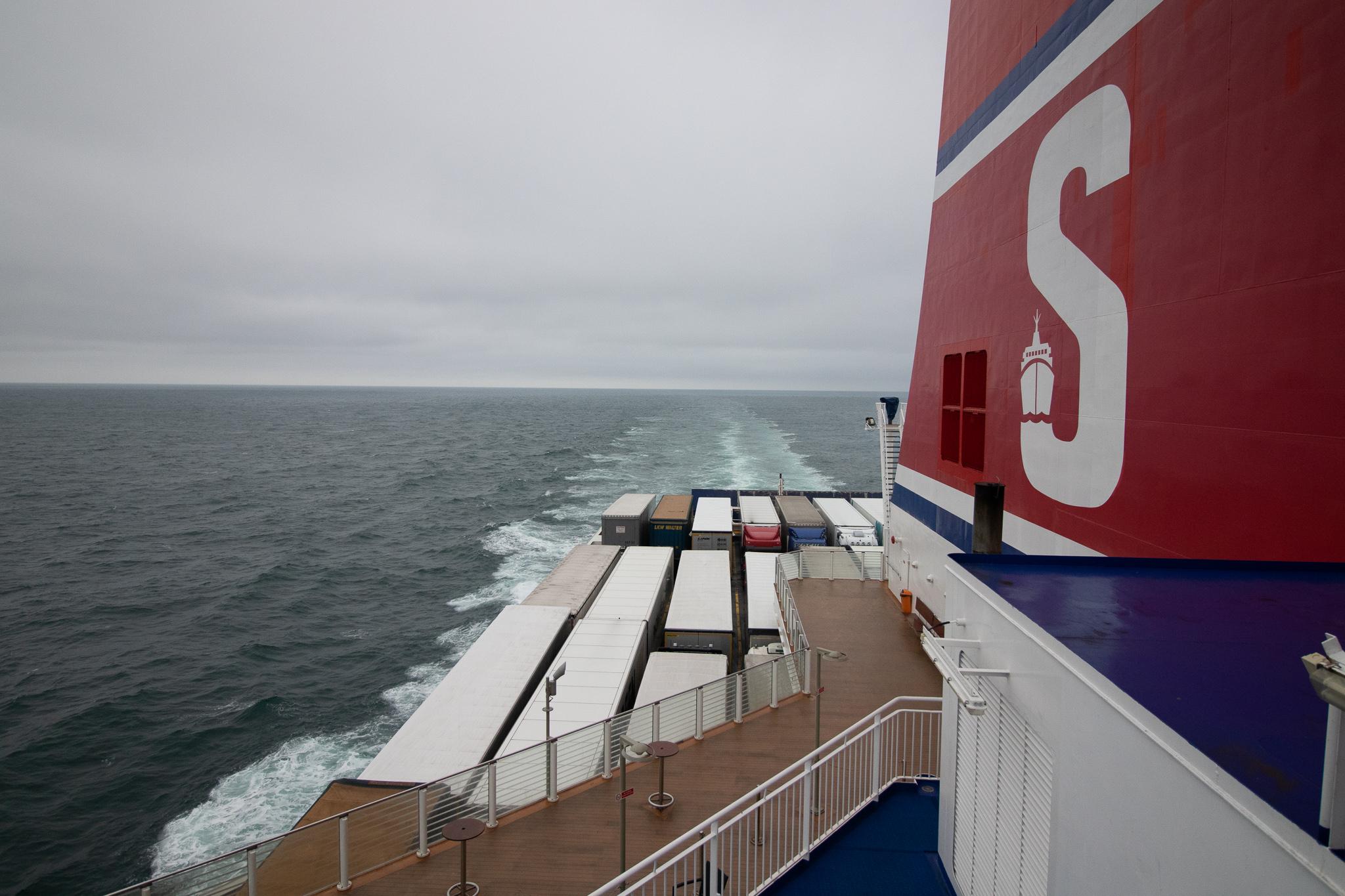 Ferry naar Harwich