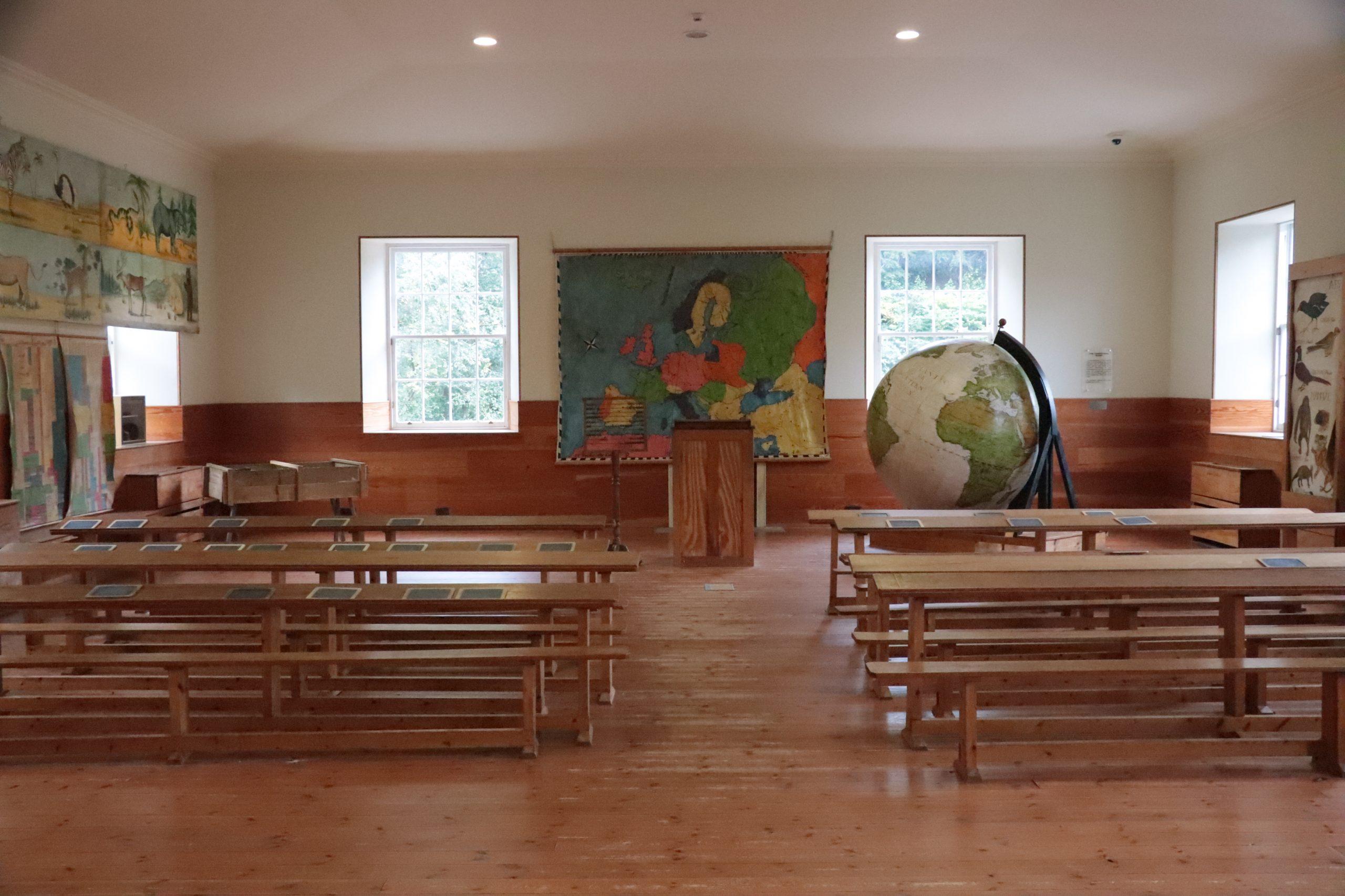 Klaslokaal New Lanark