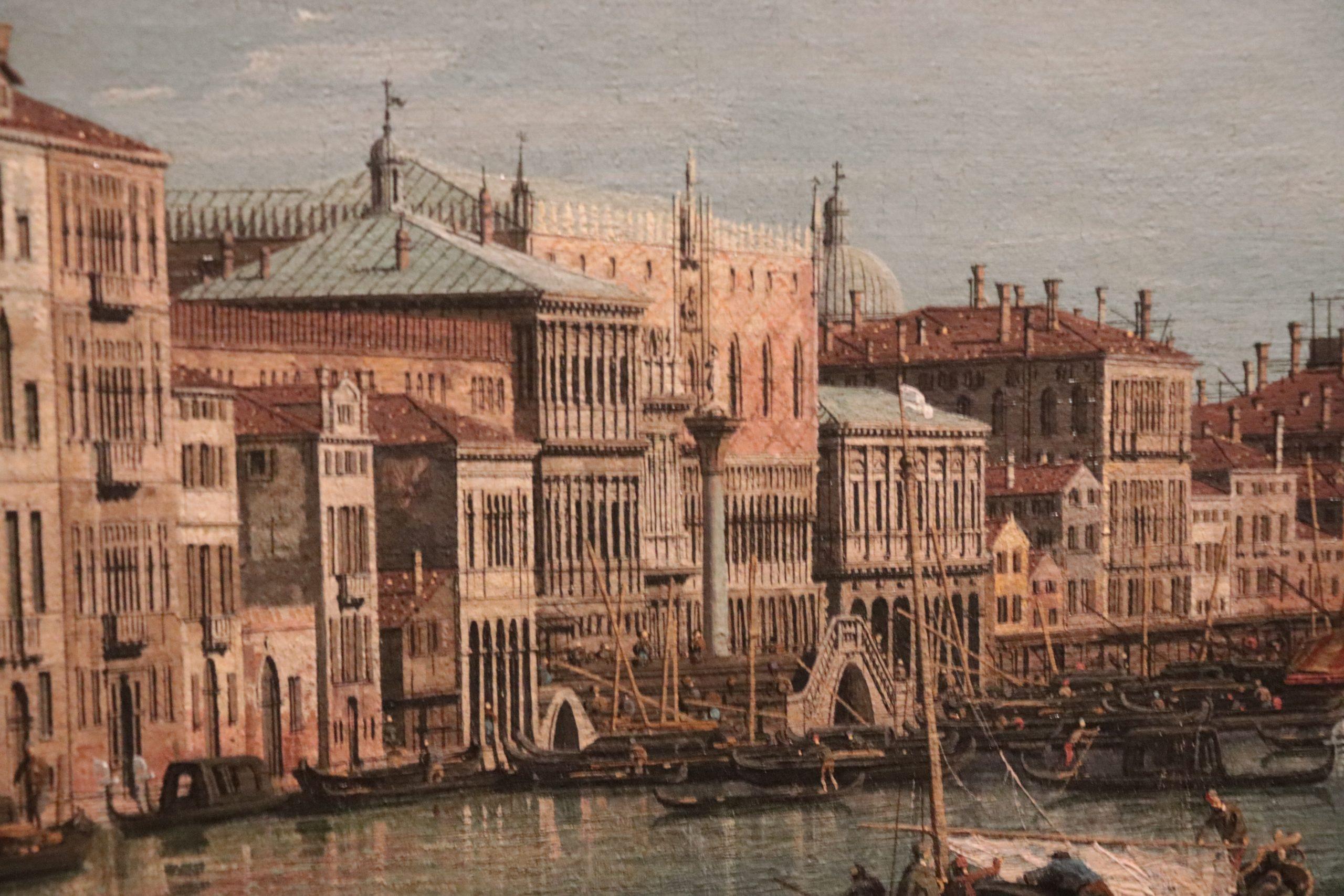 Detail schilderij Canaletto