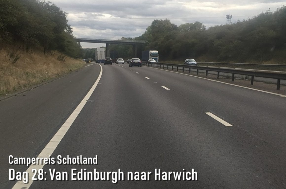 Snelweg naar Harwich