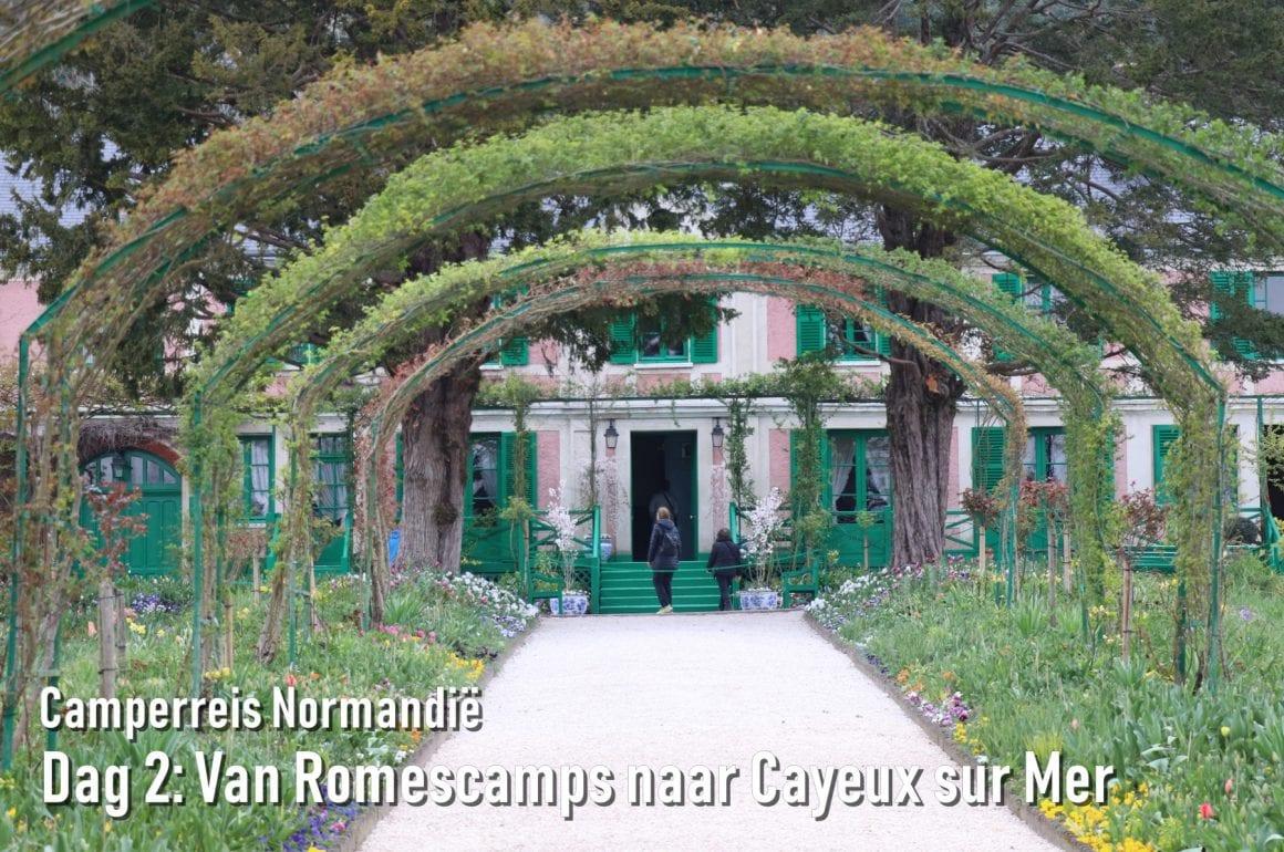 Camperreis Normandië dag 2: Van Romescamps naar Cayeux sur Mer